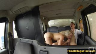 Massive titted blondie riding it wild