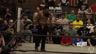 LuFis crushes AR Fox with a Tree Of Woe Cannonba _ Beyond Wrestl #So