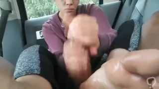 Foot and handjob cumshot