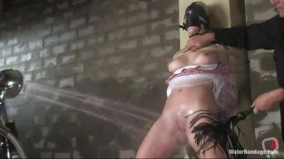 Annette Schwarz Helpless Water Bondage