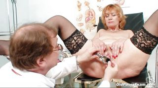 Doctor Gives Milk Enema Then A Close Exam