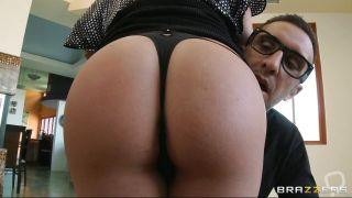 Horny Busty Milf Sucking Cock