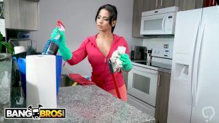 BANGBROS - My Dirty Maid Rose Monroe Masturbates After Seeing My Big Dick