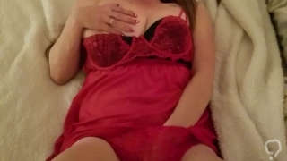 Cumming on Valentine's day