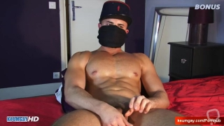 Anis straight male's big cock to wank in spite of him.