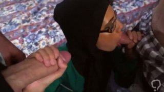 Big natural tits sex hd xxx Desperate Arab Woman Fucks For Money