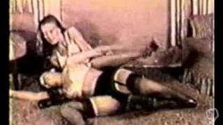 old school spanking/fight