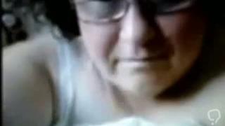 Russian Granny on webcam  Amateur