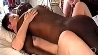 Hotwife bbc bull cuckold husband film big black cock blowjob