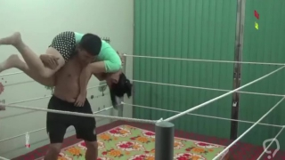 Wwe moves at the home