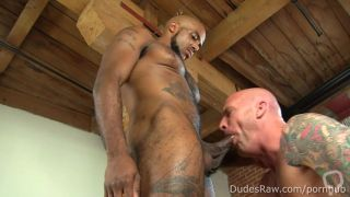 Black Hunk Micah Martinez Plows White Stud Gunner