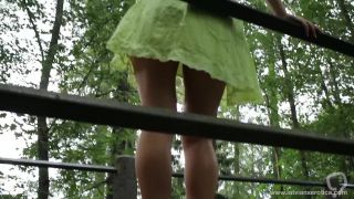 LXE 02 | Latvian beauty flashing her pussy and amazing ass in the park