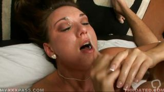 Katie Jordin Getting Cummed On Her Face
