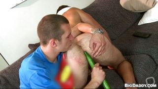 Nice Ass Gay Guy Gets His Veggies And A Sausage