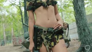Death By Orgasm - Army Girl
