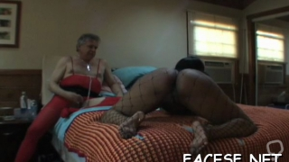 Love rocket riding together with blowjob by worshipped lady