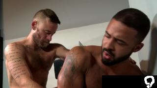 Hot White Boy's Big Dick 4 Black Dude's Cute Bubble Butt