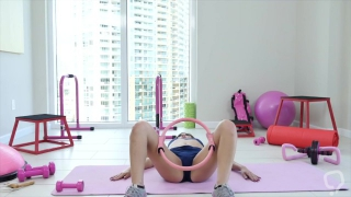 Workout Teen Creampie Fuck