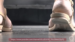 candid dirt sandals