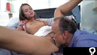Mature man fucks  anal Liza and Glen hammer the bases