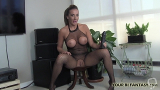 I love teasing your tight holes with my big dildos