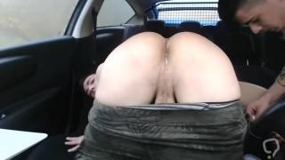 Car creampie
