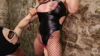 Tabbyanne sexually dominated and destroyed by bodybuilder Liverpool slut