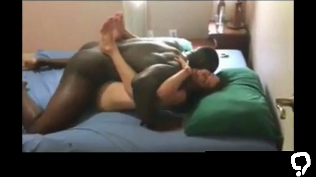 My cuckold wife creampied by a BBC