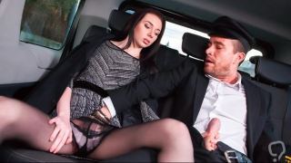 LETSDOEIT - Backseat Sex on Public Roadside with Tiny Teen