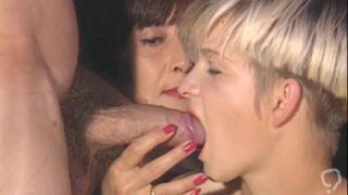Huge cock for these German sluts