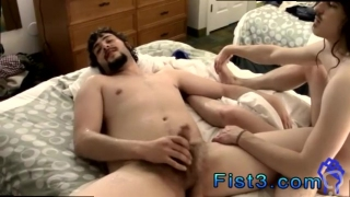 Foot fisting gay twink movie first time With a puppy mask and even a