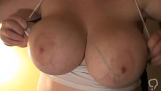 Fat slut is about to dazzle her guy