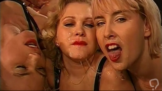 Group sex with German sluts in action
