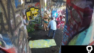 PHILAVISE-Action cam milf fucking in public with Alyssa Lynn