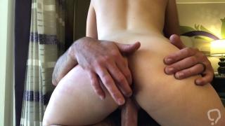 Couple has rough sex in Vegas Hotel