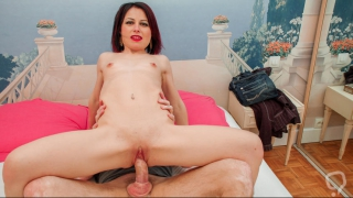 LETSDOEIT - Dirty French Girl Gets Her First Anal Sex