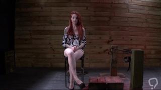Enjoy true BDSM with dirty redhead