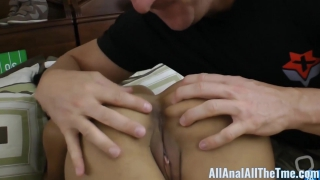Big Booty Latin Gulliana Alexis Gets Booty Ate for All Anal