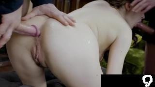 PRIVATE - Francesca di Caprio enjoys Double Penetration!