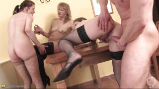 Mature Whores Having A Wild Sex Party!