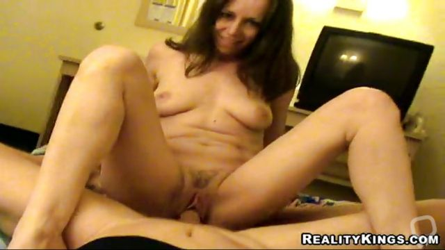 Hot Brunette Milf Gets Drilled By My Big Dick