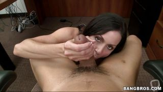 Milf Shows Her Sexy Boobs And Gives Head