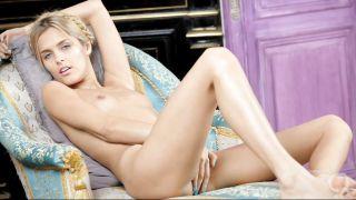 Sasha Blonde Showing Off Her Sexy Body