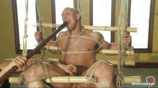 Bald Guy Getting Bdsm Punishment