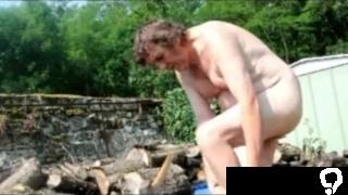 man slave boy garden anal dildo 1017