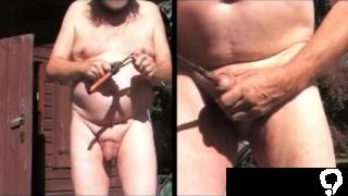 amateur boy slave garden branche sounding urethral 66c