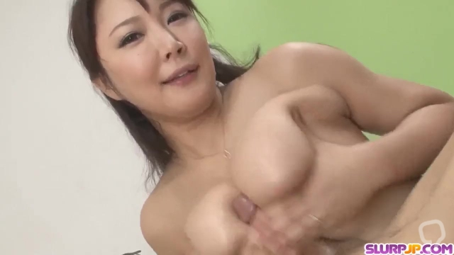 Double pleasure for the busty Asian wife, Hinata K - More at Slurpjp com