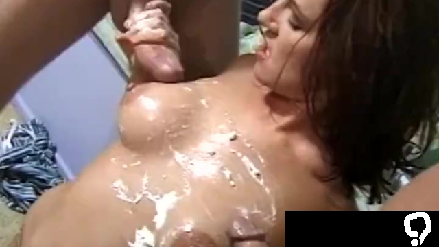 Wet And Hard Handjob