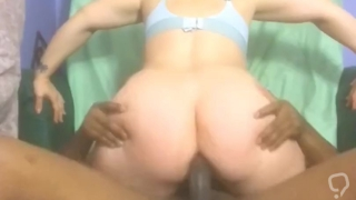 Comp of rough ass beatings (creampie @4:17)