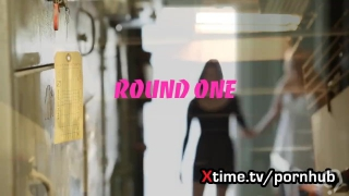 Lesbian amazing European girls in love - round 1